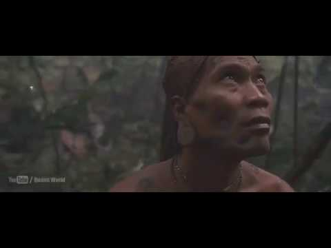 Anaconda Attacks On Tribal | Action scene from the movie Anacondas: The Hunt for the Blood Orchid