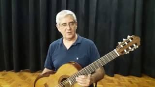 Professor testa e avalia o violão de papel