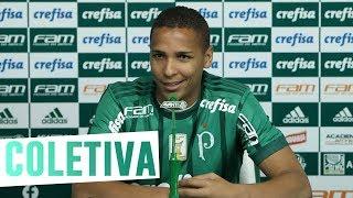 Confira a íntegra da entrevista de apresentação do atacante Deyverson. ----------------------Assine o Premiere e assista a todos os jogos do Palmeiras AO VIVO, em qualquer lugar, na TV ou no Premiere Play: http://bit.ly/1myhErs E se você já assina, participe da pesquisa e diga que seu time é o Palmeiras: http://bit.ly/2ad5HJo------------------------Seja Sócio Avanti, com desconto em ingressos e privilégios exclusivos! Clique aqui: http://bit.ly/1uKJsbA