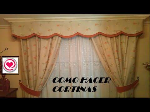 como hacer cortinas de tela | facilisimo.com
