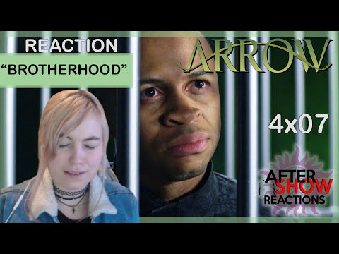 "Arrow 4x07 - ""Brotherhood"" Reaction Part 1"