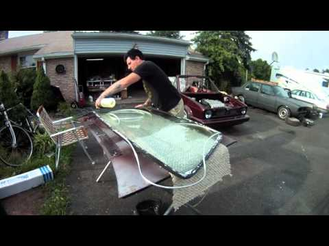 How to Install a VW Rabbit Windshield Seal on the Windshield