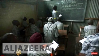 Kenyan prison inmates learn how to read and write as well as gaining legal skills to represent themselves in court. - Subscribe to...