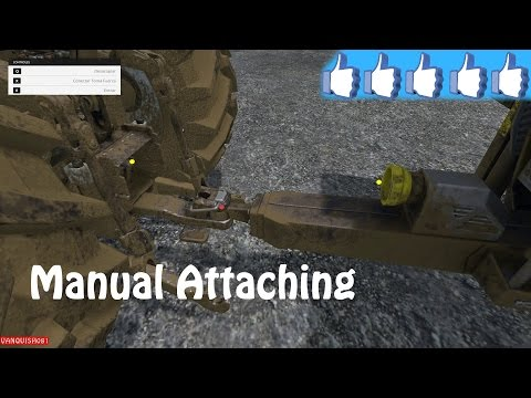 Manual Attaching v2.1 with PTO attach/detach function