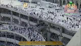 خطبة عيد الأضحى 1435 من المسجد الحرام الشيخ  سعود الشريم   HD