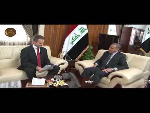 خالد العبيدي يستقبل السفير الهنغاري في بغداد