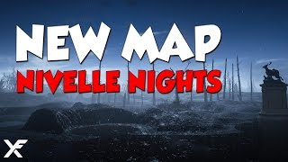 Nivelle Nights, has a elaborate trench system, and is the first night map for Battlefield 1 coming to premium owners in June.