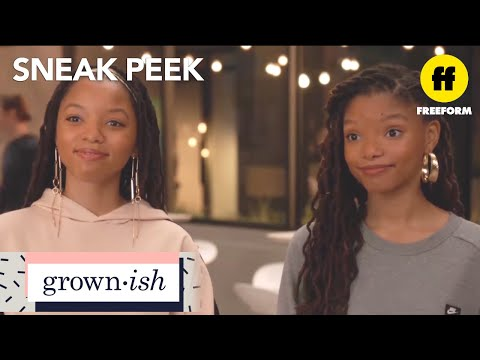 grown-ish | season 1, episode 8 sneak peek: the 'cool dean' | freeform