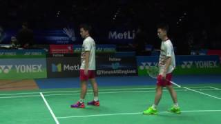 Video Yonex All England Open 2017 | Badminton SF M5-MD | Gid/Suk vs Con/Kol MP3, 3GP, MP4, WEBM, AVI, FLV November 2018