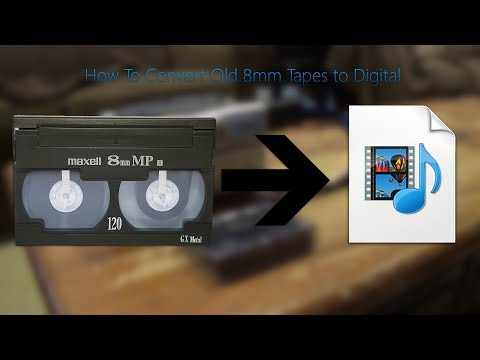 How To Convert Old 8mm Tapes to Digital | Kyle2000