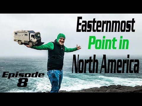 The Easternmost point in North America [] Cape Spear with locals EP8 [] Liveandgive4x4