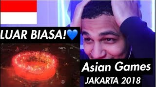 Download Video Cuplikan Kemeriahan Opening Ceremony Asian Games 2018 REACTION #AsianGames2018 #Jakarta #Indonesia MP3 3GP MP4