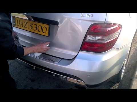 Mercedes Dent Repair – Paintless Dent Removal