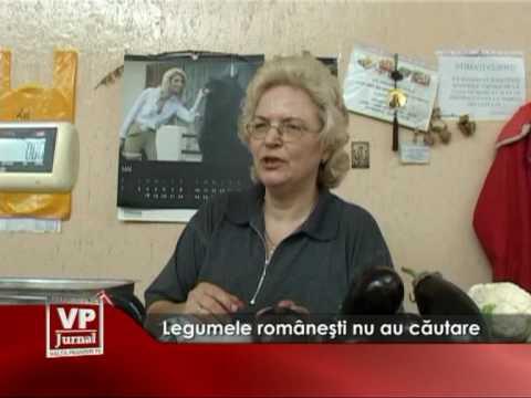 Legumele româneşti nu au căutare