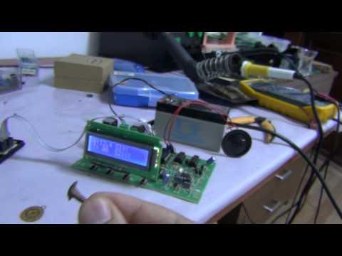 PIM-2 PI Sistem Metal Dedektörü Altın ve Demir Testi