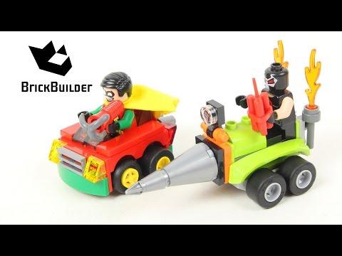 Vidéo LEGO DC Comics Super Heroes 76062 : Robin contre Bane