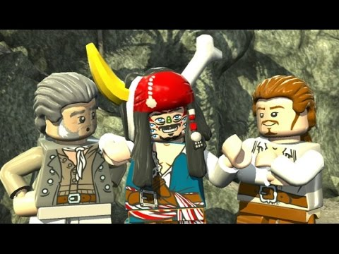 LEGO Pirates of the Caribbean Walkthrough Part 6 - Pelegosto (Dead Man's Chest)