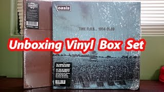 Unboxing Oasis Time Flies 1994-2009 Vinyl Box Set