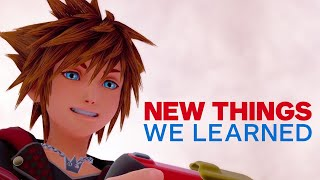 Video 5 New Things We Learned About Kingdom Hearts 3 MP3, 3GP, MP4, WEBM, AVI, FLV Agustus 2018
