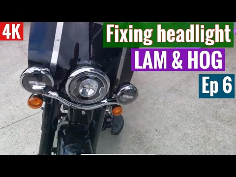 Fixing faulty headlight 🥵& briefing LAM and HOG (Season1-Episode6)😎
