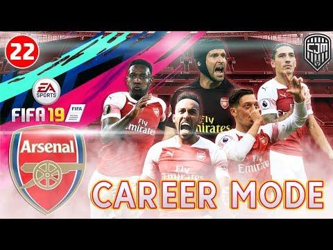 FIFA 19 Arsenal Career Mode: Pertandingan Keras UEFA Europa League Lawan Tim Yunani #22