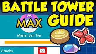 50 Win Streak Battle Tower Guide! THE BEST BATTLE TOWER TEAM FOR POKEMON SWORD AND SHIELD by Verlisify