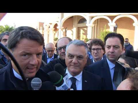 Pineto, Matteo Renzi a Scerne: colpito da Casa Madre Ester. Solidarietà ai lavoratori dell'Hatria (VIDEO/FOTO)
