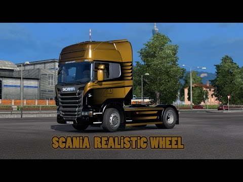 Scania Realistic Wheels