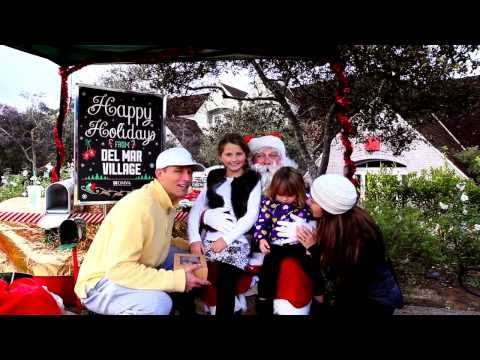 Celebrate the Holidays at Del Mar Village | Things to Do in Del Mar CA |  Angela Meakins Bergam