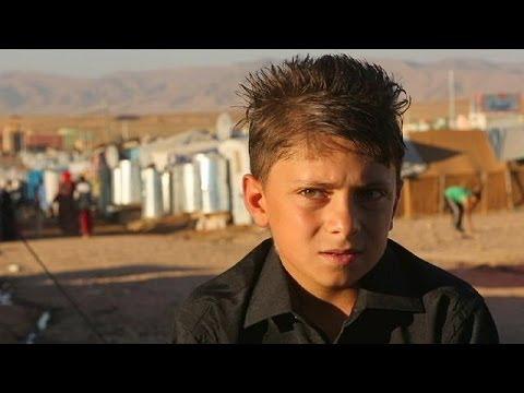 La infancia en un campo de refugiados