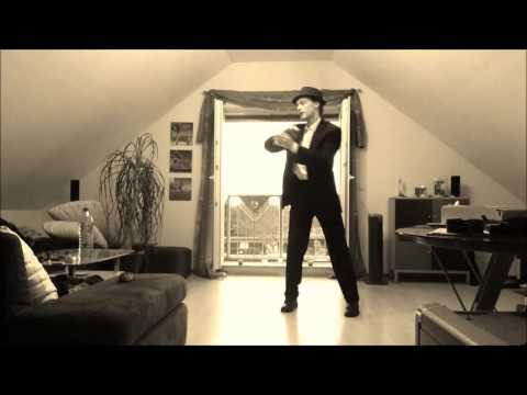 Stilig kille med schyssta dansmoves