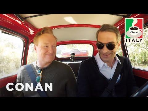 Conan finally breaks Jordan. Numerous moments in this segment.