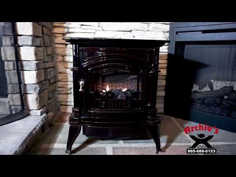 Monessen CSVF Series Vent Free Gas Stove live burning HD