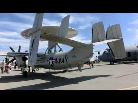 Navy Northrop Grumman E-2C Hawkeye...