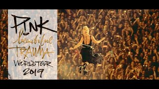 Download Lagu 🔴 P!nk - Beautiful Trauma Tour 2018 - Full concert HD 720p Mp3
