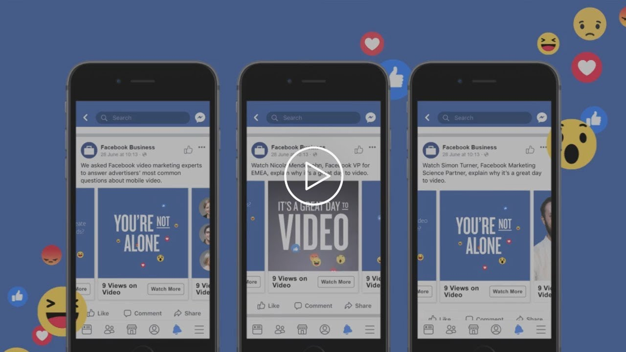 Facebook – 9 Views on Video