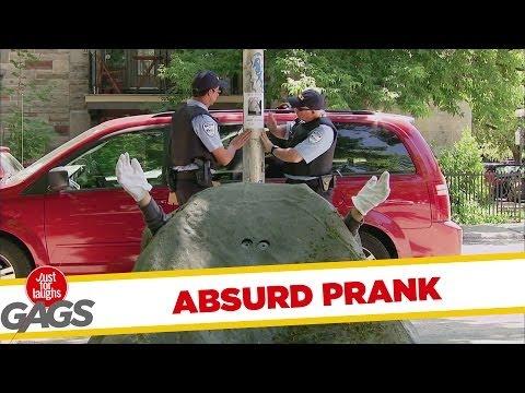 Absurd Fugitive Police Prank