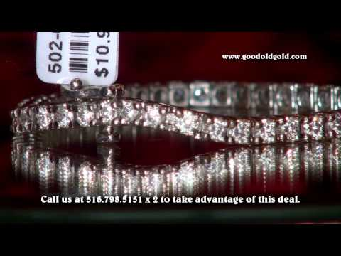4.58cttw diamond tennis bracelet excellent deal