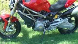 4. 2013 Ducati Monster 696 20th anniversary edition.