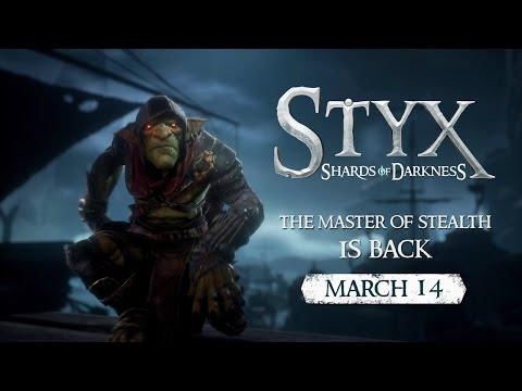 Goblin Styx nie ma szans w otwartej konfrontacji. Musi liczyć na swój spryt, swoje gadżety i nasze umiejętności. Premiera gry Styx: Shards of Darkness.