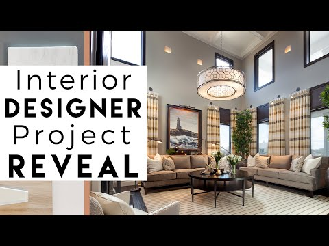 Interior Design Reveal Luxury Home, Floor 1
