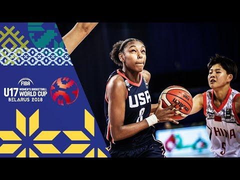 China v USA - Full Game - FIBA U17 Women's Basketball World Cup 2018