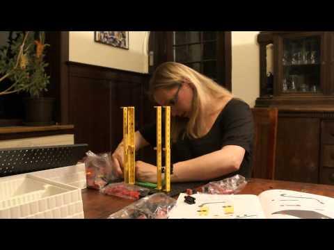 Rolling Action, Murmelbahn mit 270 Teile (FischerTechnik Advanced) - Rezension Kinderspielzeug-Test