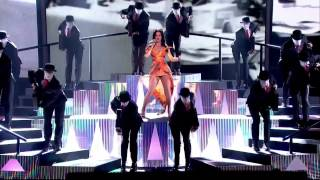 Katy Perry Performing 'Roar' On The X Factor UK  20/10/13