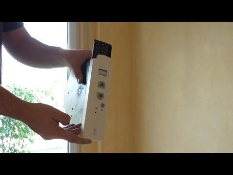 elektrischer Gurtwickler einbauen / Rollladengurt tauschen