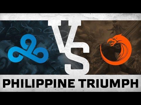 WATCH FIRST: PHILIPPINE TRIUMPH - Cloud9 vs TNC @ WESG Grand Final