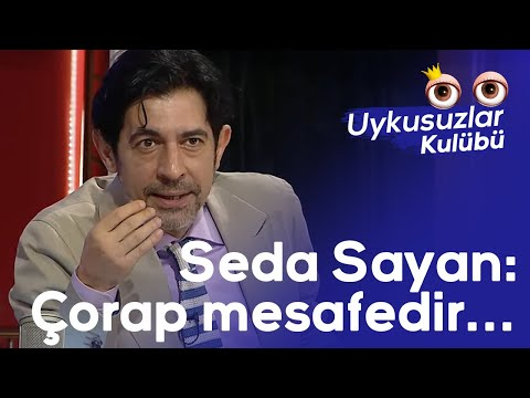 Seda Sayan: Çorap mesafedir... Okan Bayülgen daha fazla dayanamadı