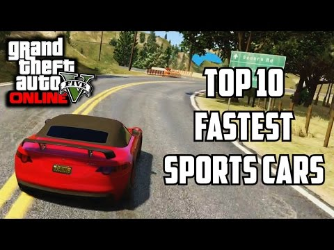 GTA 5 PS4 – Top 10 Fastest Sports Cars!! (GTA V Best Racing Cars)