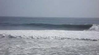 February 24,2008 double overhead plus surf in Santa Barbara