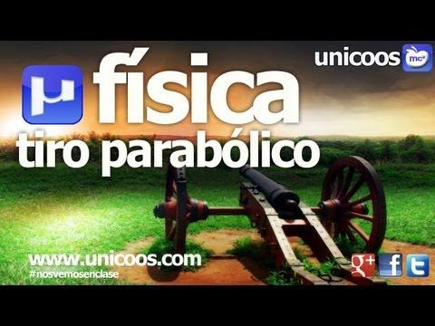 FISICA Tiro parabolico 03 BACHILLERATO CINEMATICA